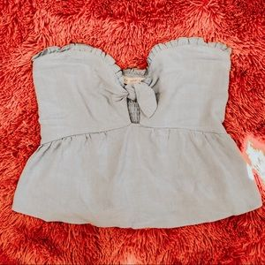 NWOT strapless top